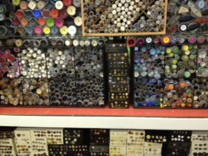 Button Wall, Material Girl in Crystal Lake