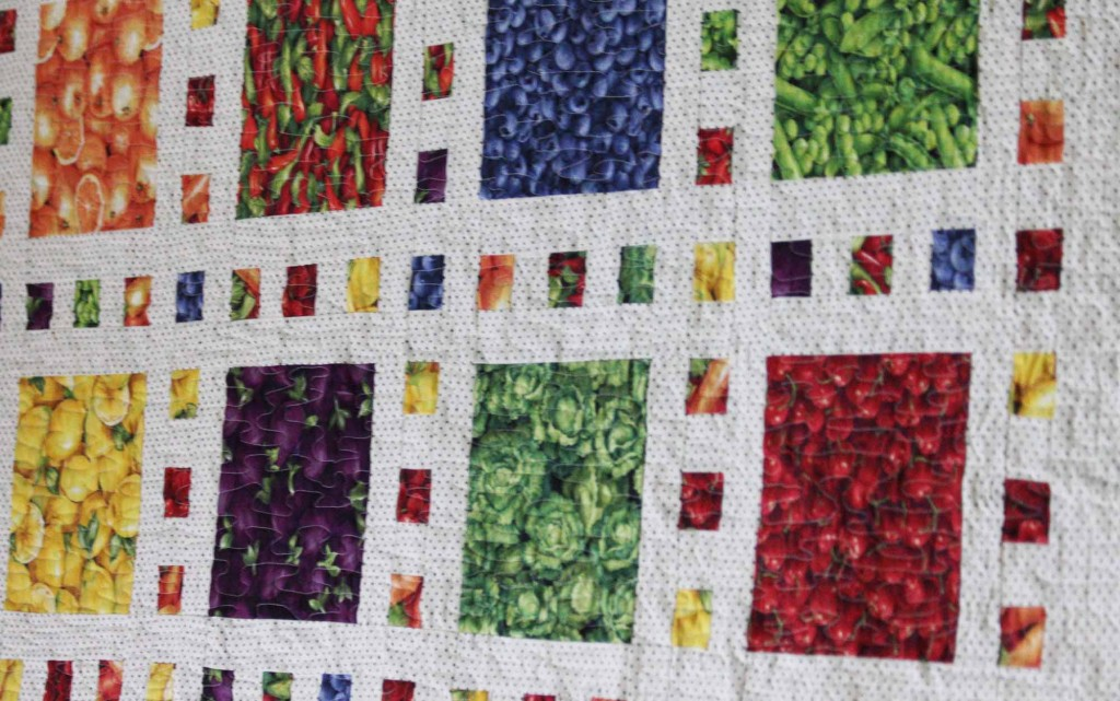 Fruits and Veggies Quilt