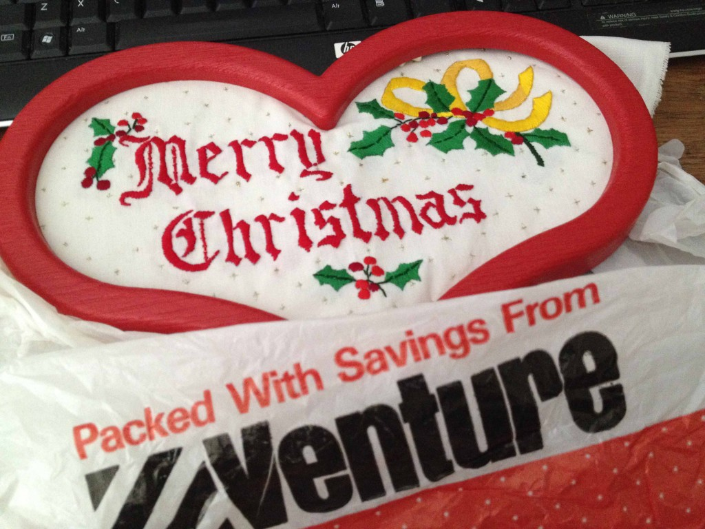 Hand embroidery from Venture