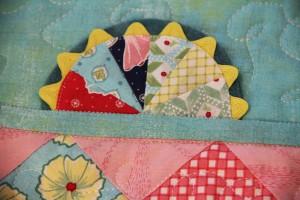 mini quilt detail