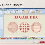 3D Globe Effect.